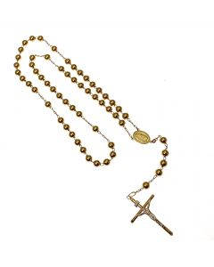 New 9ct Gold Rosary Beads