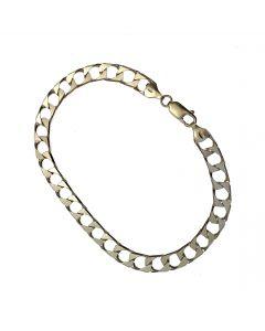 New Silver Cuban Bracelet