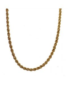 New 9ct Gold Rope Chain