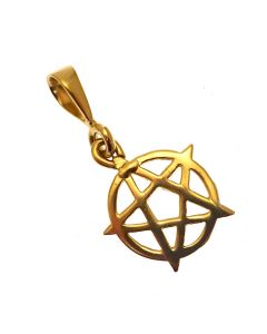 Pre-Loved 9ct Gold Pentagram Pendant
