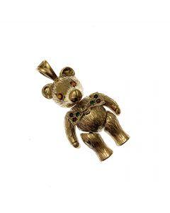 Pre-Loved 9ct Gold Teddy Bear Pendant