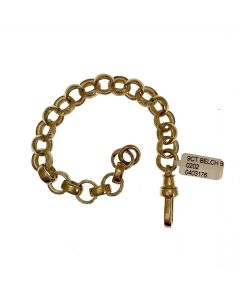 New 9ct Gold Unisex Belcher Bracelet