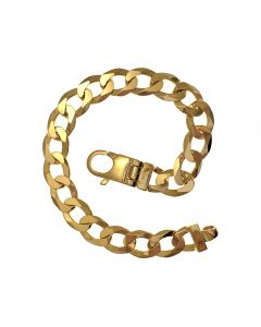 New 9ct Gold Cuban Bracelet