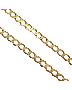 Pre-owned 9ct Gold Curb Chain