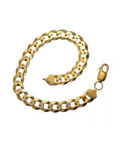 Pre-loved 9ct Gold Curb Bracelet