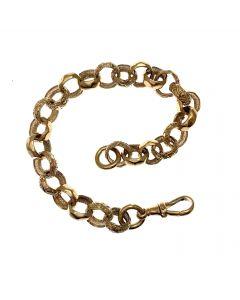 New 9ct Gold Belcher Bracelet