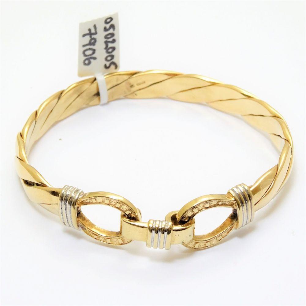 642e489f6 9ct Gold Gucci Style Bracelet
