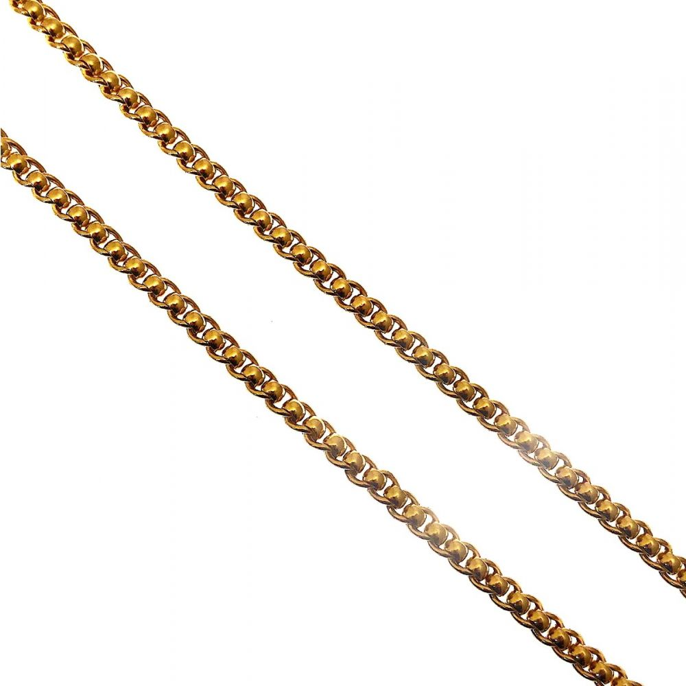 d51b3798ffc8d Heavy 9ct Gold Rollerball Chain