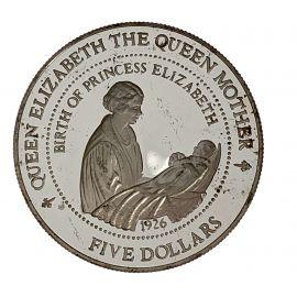 Silver Commemorative 1994 Birth of Princess Elizabeth Coin
