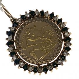 1982 Half Sovereign Pendant