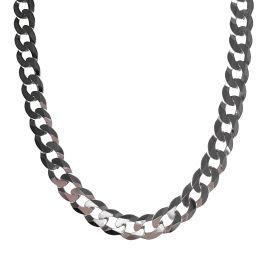 New Silver Curb Chain