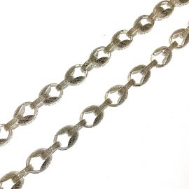 New Sterling Silver Tulip Chain