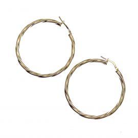 New Sterling Silver Hoop Earrings