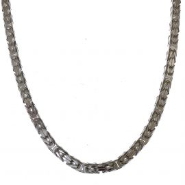 New Heavy Silver Etruscan Chain
