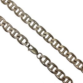 Pre-Owned Sterling Silver Anchor Curb Chain
