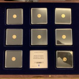 Pre-Loved 14ct Gold Princess Diana 8 Piece Coin Set