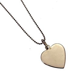 New Silver Heart Necklace