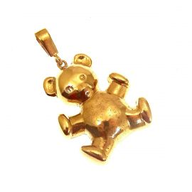 9ct Gold Teddy Bear Pendant