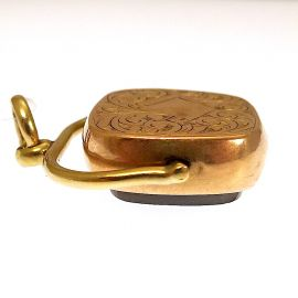 9ct Gold Fob Pendant