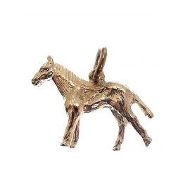 New Handmade Sterling Silver Horse Charm