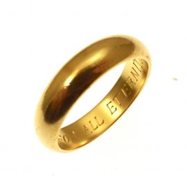 Pre-Loved 18ct Gold Wedding Band