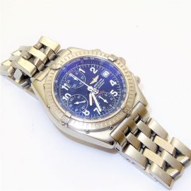Breitling Blackbird Stainless Steel Watch