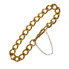 Pre-Owned Heavy 9ct Gold Albert Bracelet