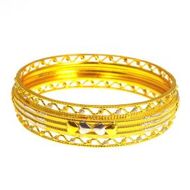 Pre-Owned 22ct Gold Childs Bangle
