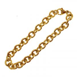 New Solid 9ct Gold Belcher Bracelet