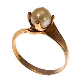 Pre-Loved 9ct Gold Pearl Ring