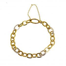 Pre-Loved 14ct Gold Belcher Bracelet