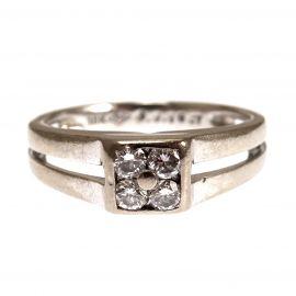 Pre-Loved 18ct Gold Diamond Ladies Ring