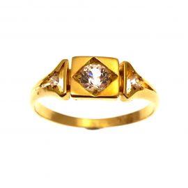 18ct Gold Vintage Diamond Ring