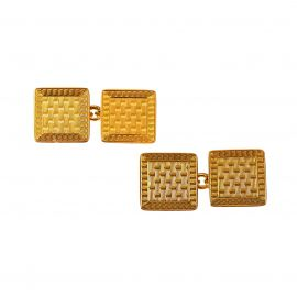 Vintage 9ct Rose Gold Cufflinks