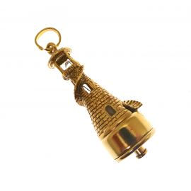 Pre-Loved 18ct Gold Light House Charm