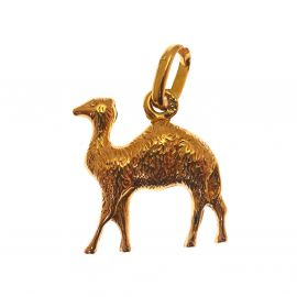 18ct Gold Camel Charm