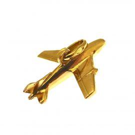 Pre-loved 9ct Gold Aeroplane Charm