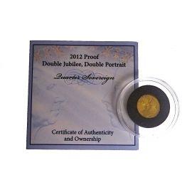 22ct Gold Quarter Sovereign