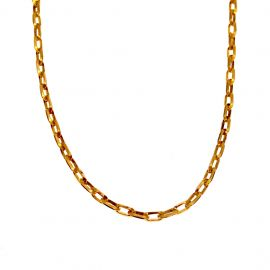 Second Hand 9ct Gold Oval Link Belcher Chain