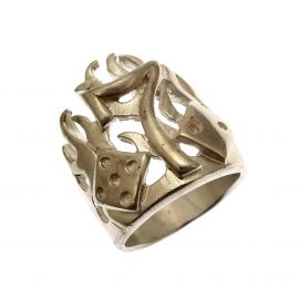 New Silver Lucky 7's Ring