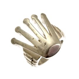 New Men's Silver Rollie Ring