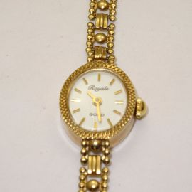 9ct Gold Royale Ladies Watch