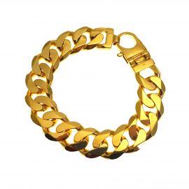 Brand New 9ct Gold Heavy Curb Bracelet