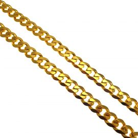 NEW 9ct Gold Heavy Curb Chain