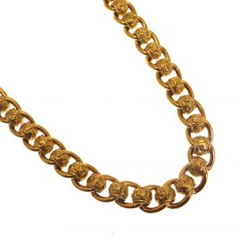 Second Hand 9ct Gold Heavy RollerBall Chain
