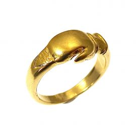 NEW 9ct Gold Boxing Glove Ring