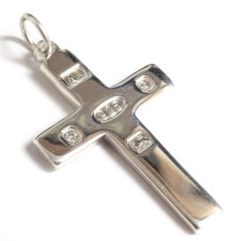 NEW Solid Silver Hallmarked Cross