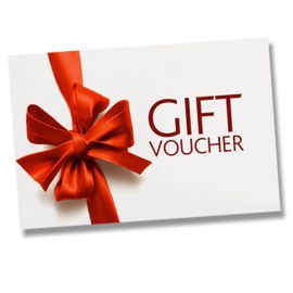 Gift Vouchers from £20.00 to £250.00