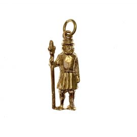 Second Hand 9ct Gold Beefeater Charm