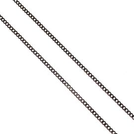 New 9ct White Gold Curb Chain
